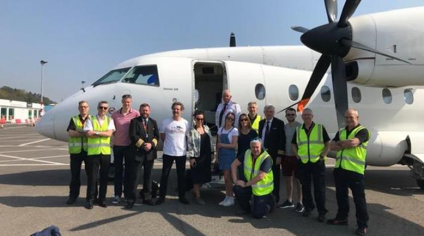 Loganair Dornier 328