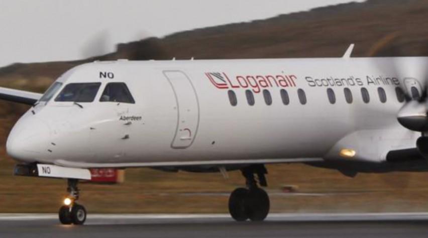 Loganair Saab 2000