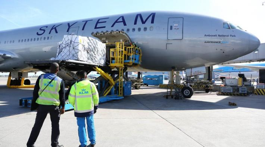 KLM IC-apparatuur Boeing 777 Antillen