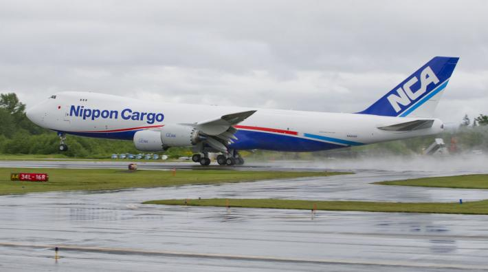 NCA Nippon Cargo Airlines Boeing 747-8F