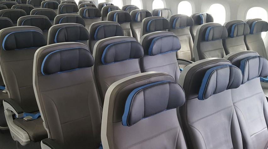 Neos 787 cabine