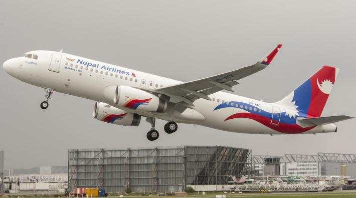 Nepal Airlines Airbus A320