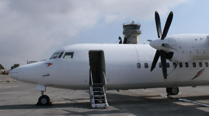 Palestinian Airlines Fokker 50