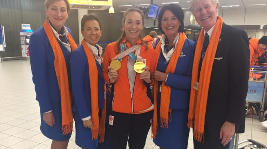 KLM Paralympische Spelen