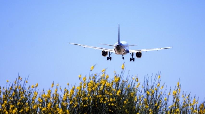 vliegtuig, landing