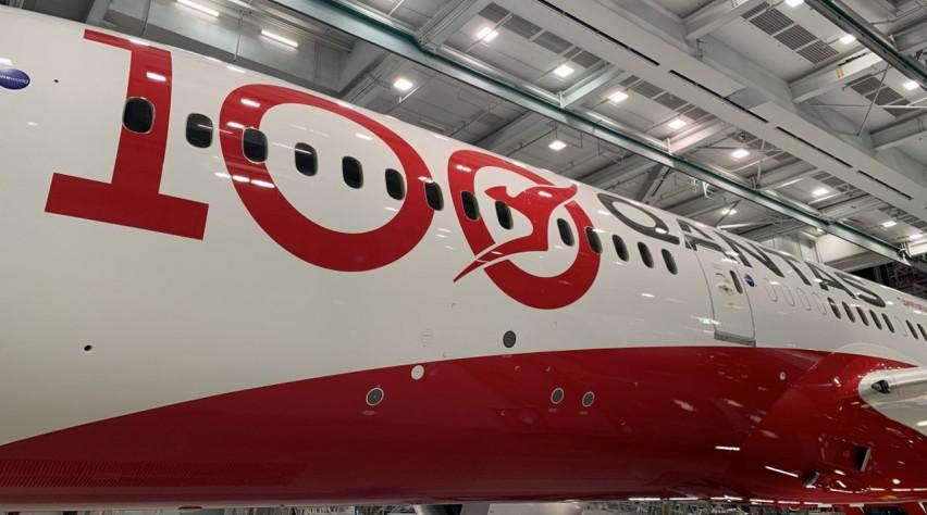 Qantas 787 100