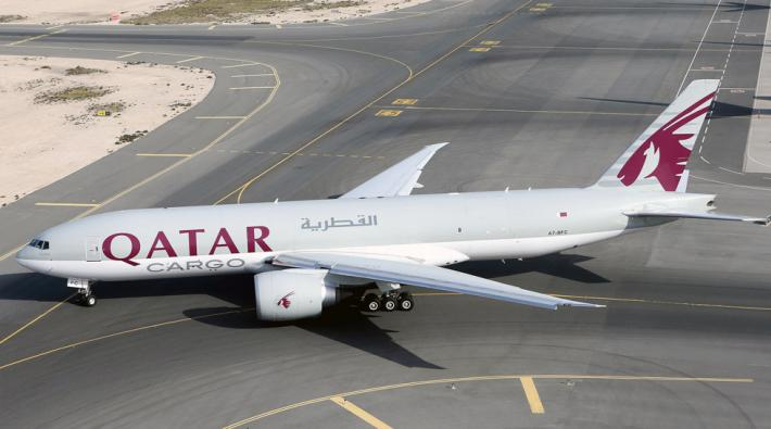 Qatar Airways Boeing 777F