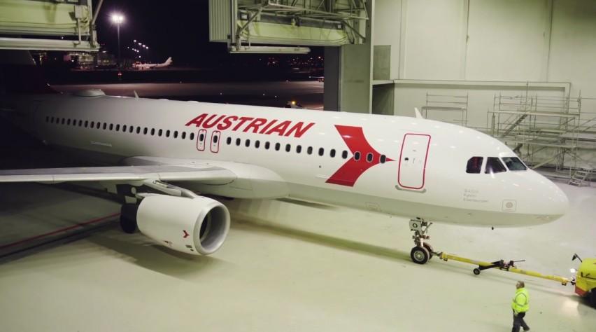 Austrian A320 retro