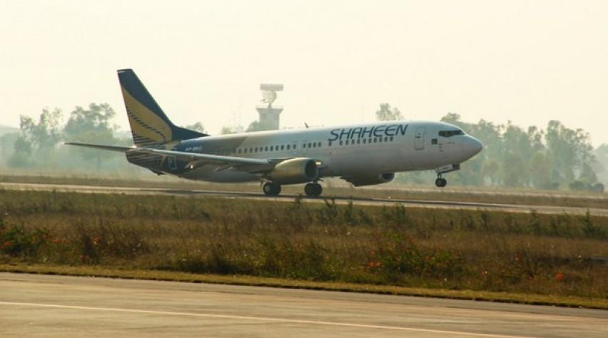 shaheen air, pakistan, boeing 737-400