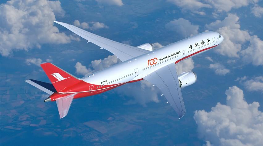 Shanghai Airlines Boeing 787-9