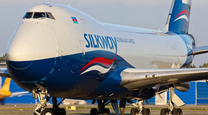 Silk Way West Airlines 747
