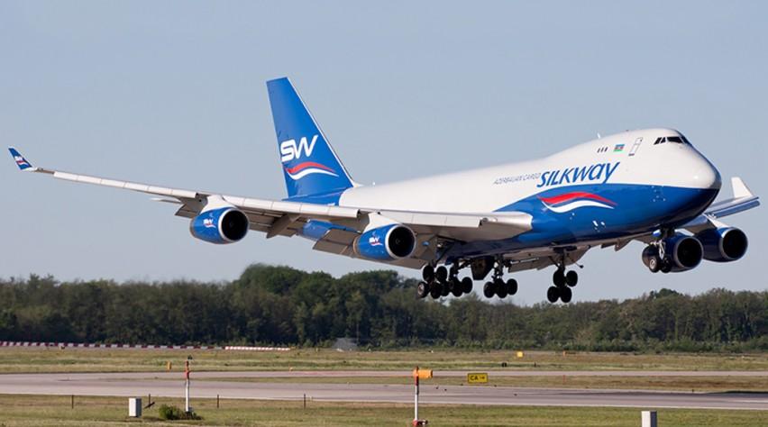 Silk Way West Airlines 747