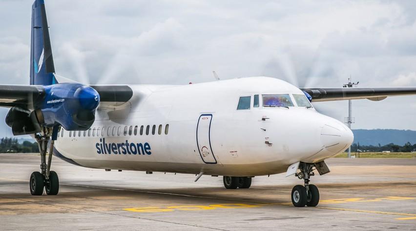 Silverstone Air Fokker 50