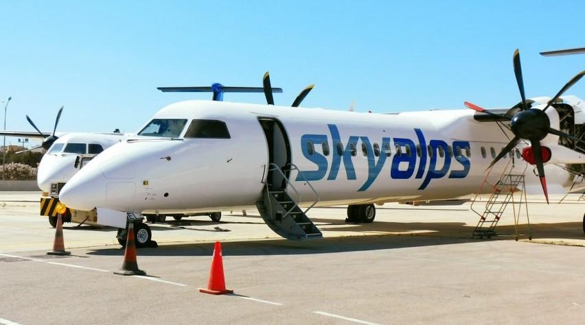SkyAlps Dash 8