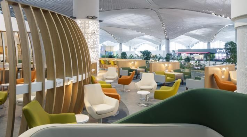 SkyTeam Lounge Istanbul