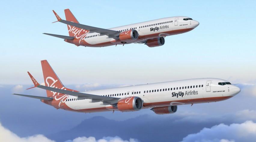 SkyUp Boeing 737 MAX