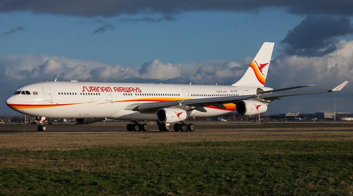 Surinam Airways Airbus A340 by Klaas-Jan van Woerkom