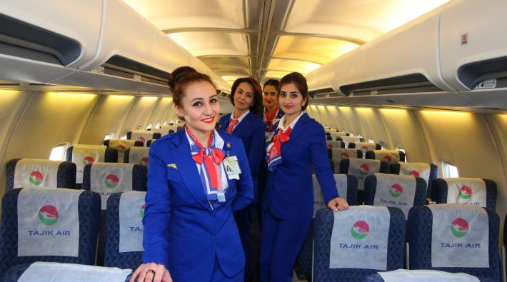 Tajik Air crew