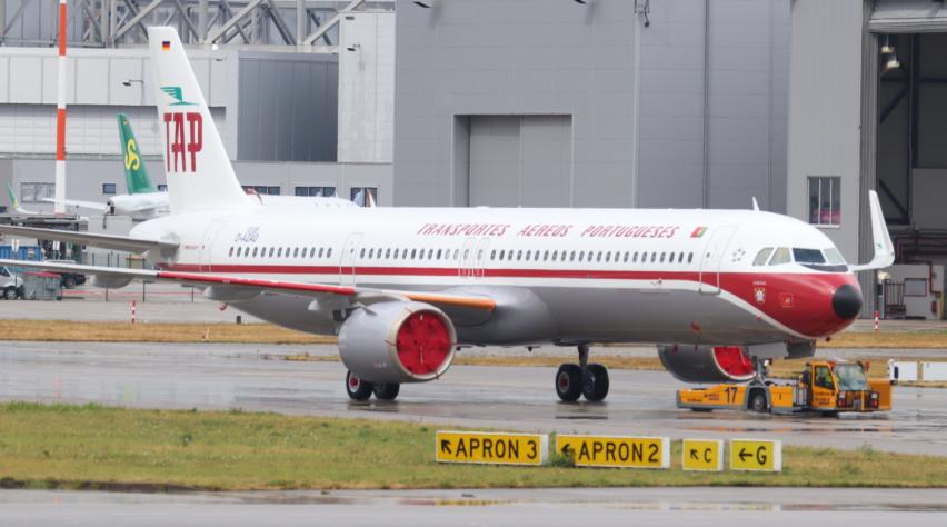 TAP A321neo Retro