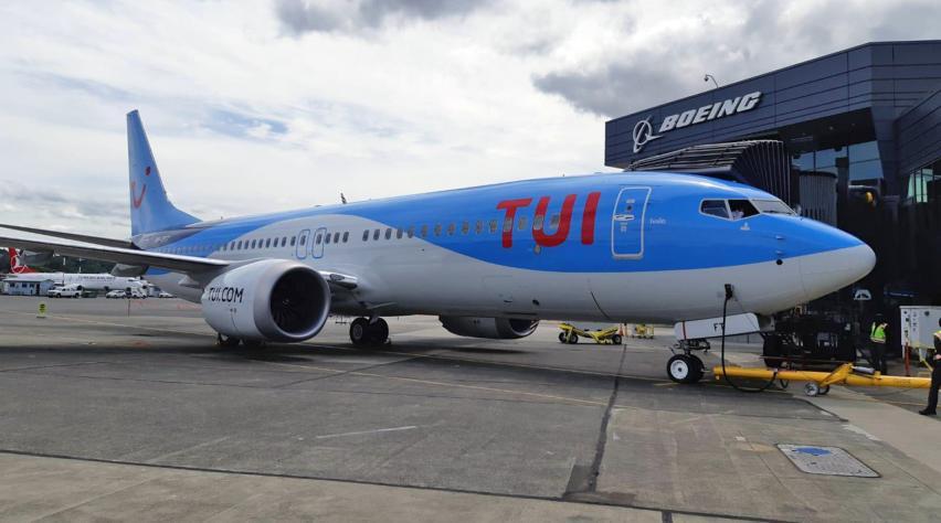 TUI 737 MAX TFT