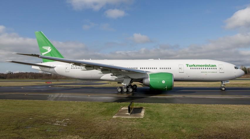 Turkmenistan Airlines Boeing 777-200LR