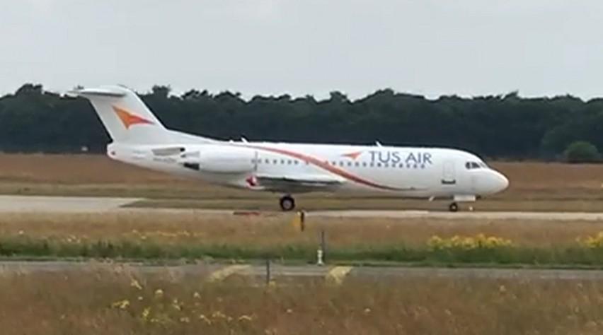 TUS Airways Fokker 70