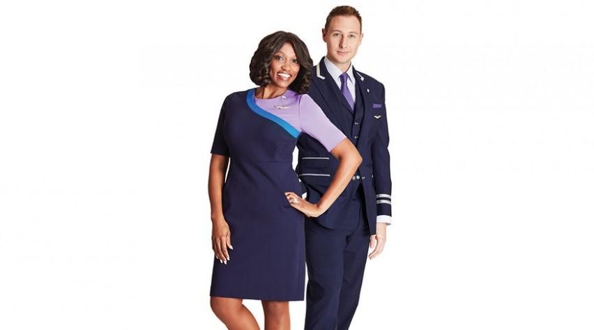 United cabinepersoneel nieuw uniform