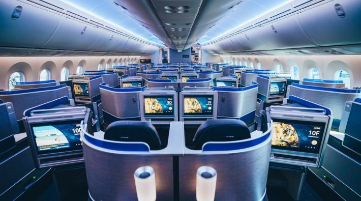 United Boeing 787-10 Polaris Business Class