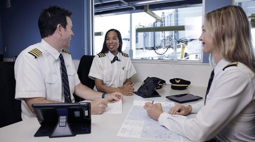 United Airlines vliegschool