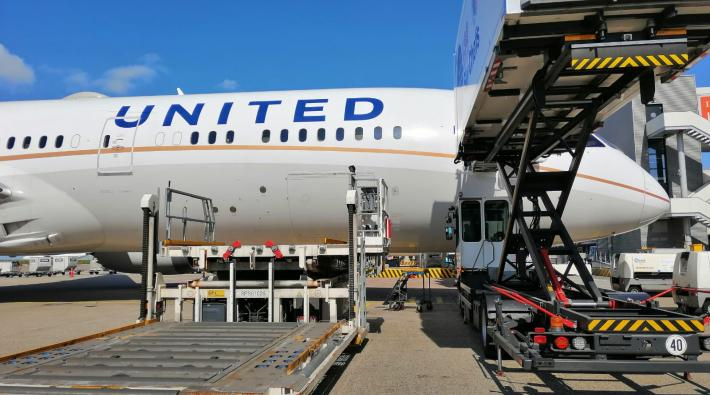 United Airlines SFO