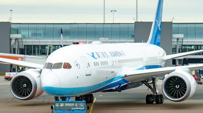 Xiamen Airlines Schiphol