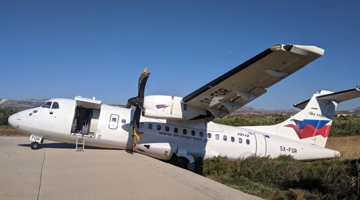 Naxos Airport incident
