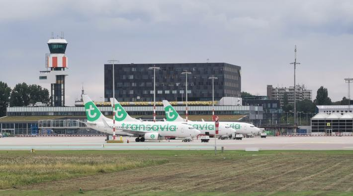 Rotterdam The Hague Airport Transavia