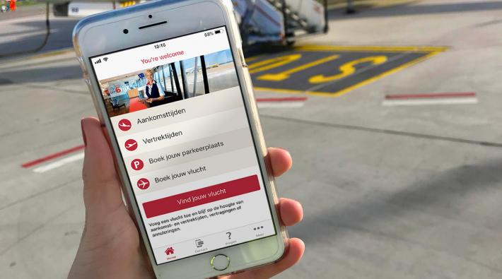 Rotterdam The Hague Airport app