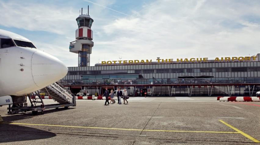 aansluiting luchthaven