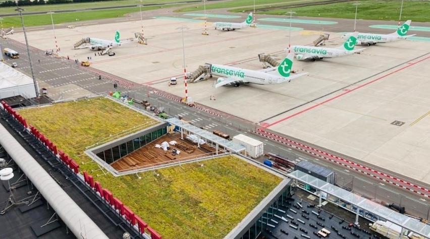 Rotterdam Airport uitbreiding terminal