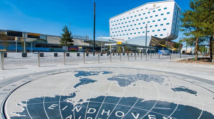 Voorterrein Eindhoven Airport