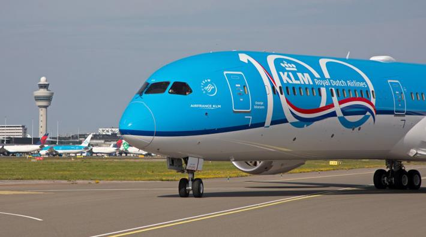 KLM Boeing 787-10 WBC