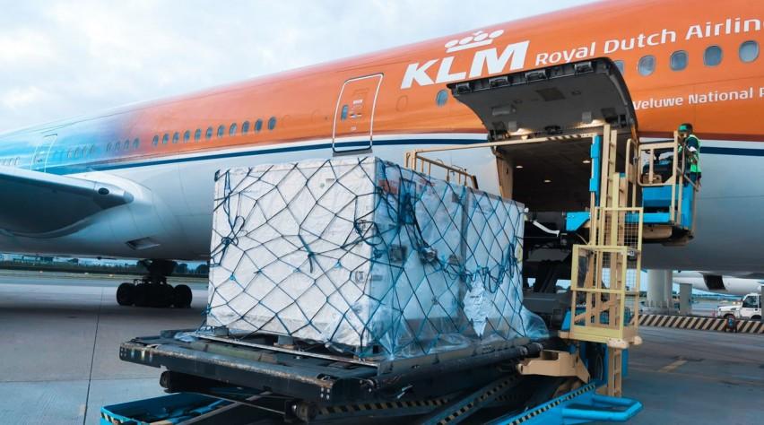 KLM Orange Pride Cargo