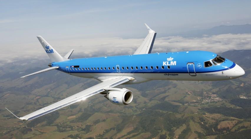 KLM Cityhopper Embraer 190