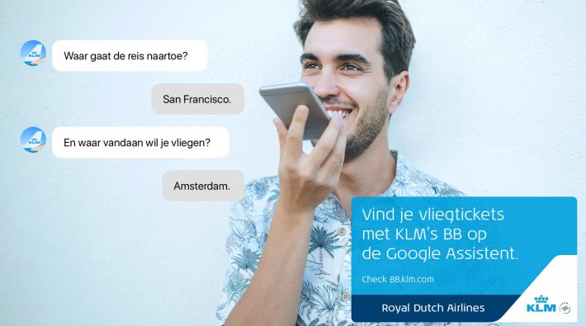 KLM Google Assistent