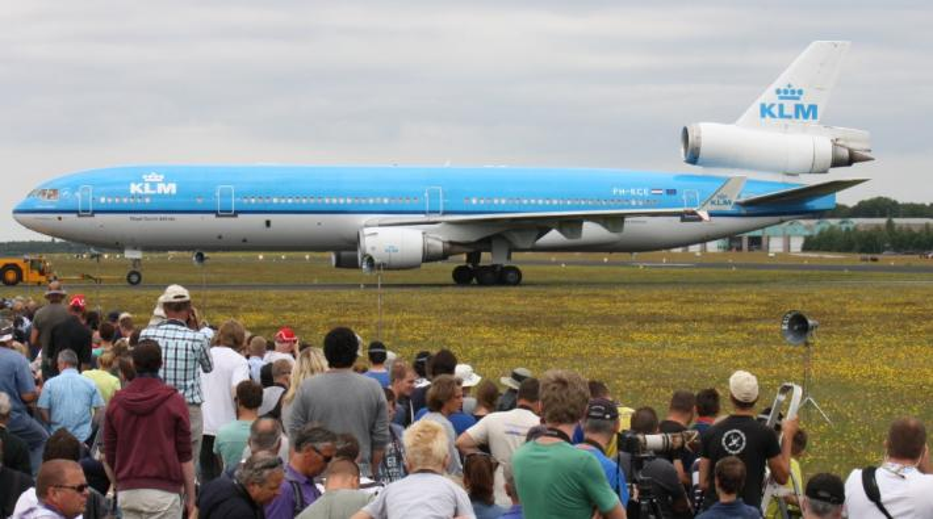 MD-11 KLM Gilze-Rijen