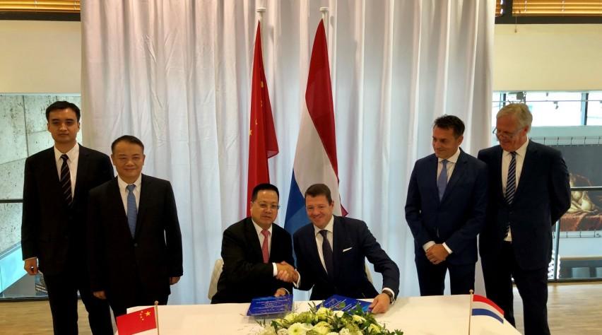 Pieter Elbers op het Chinees-Nederlandse Business Forum