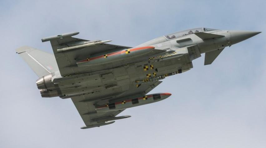 Eurofighter typhoon crash