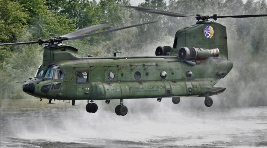 Chinook helocasting
