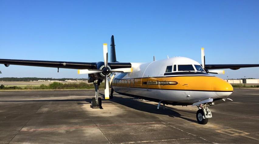U.S. Army Golden Knights Fokker F.27