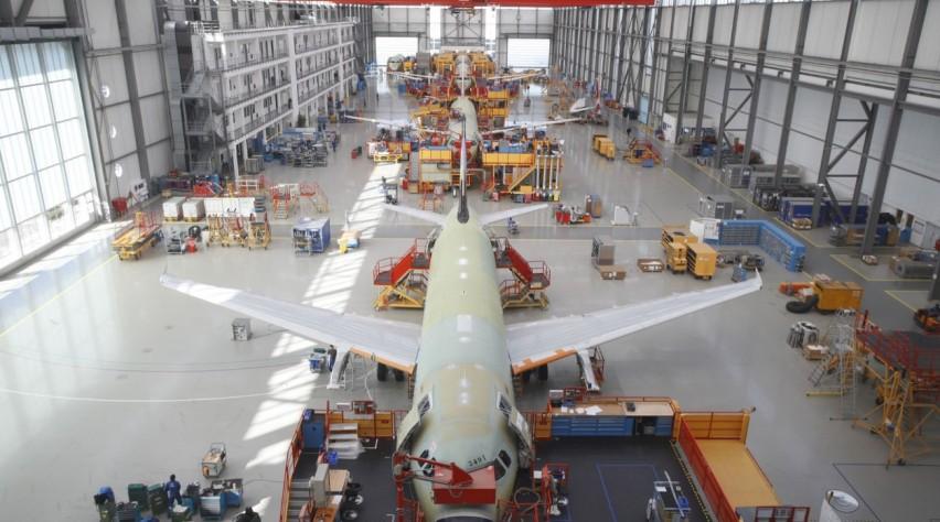 A320 productie