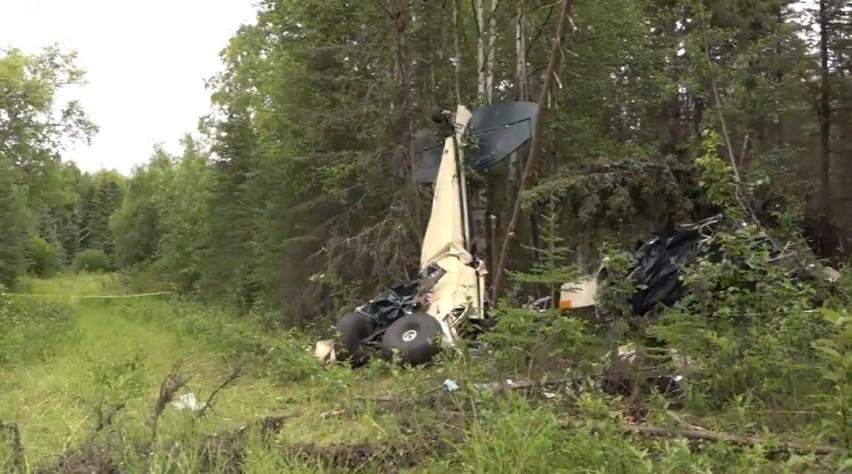 Crash Alaska 31 juli 2020