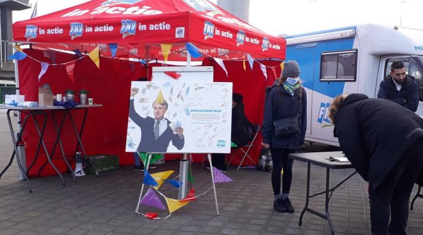 FNV Actie Schiphol