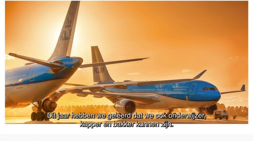 KLM commercial
